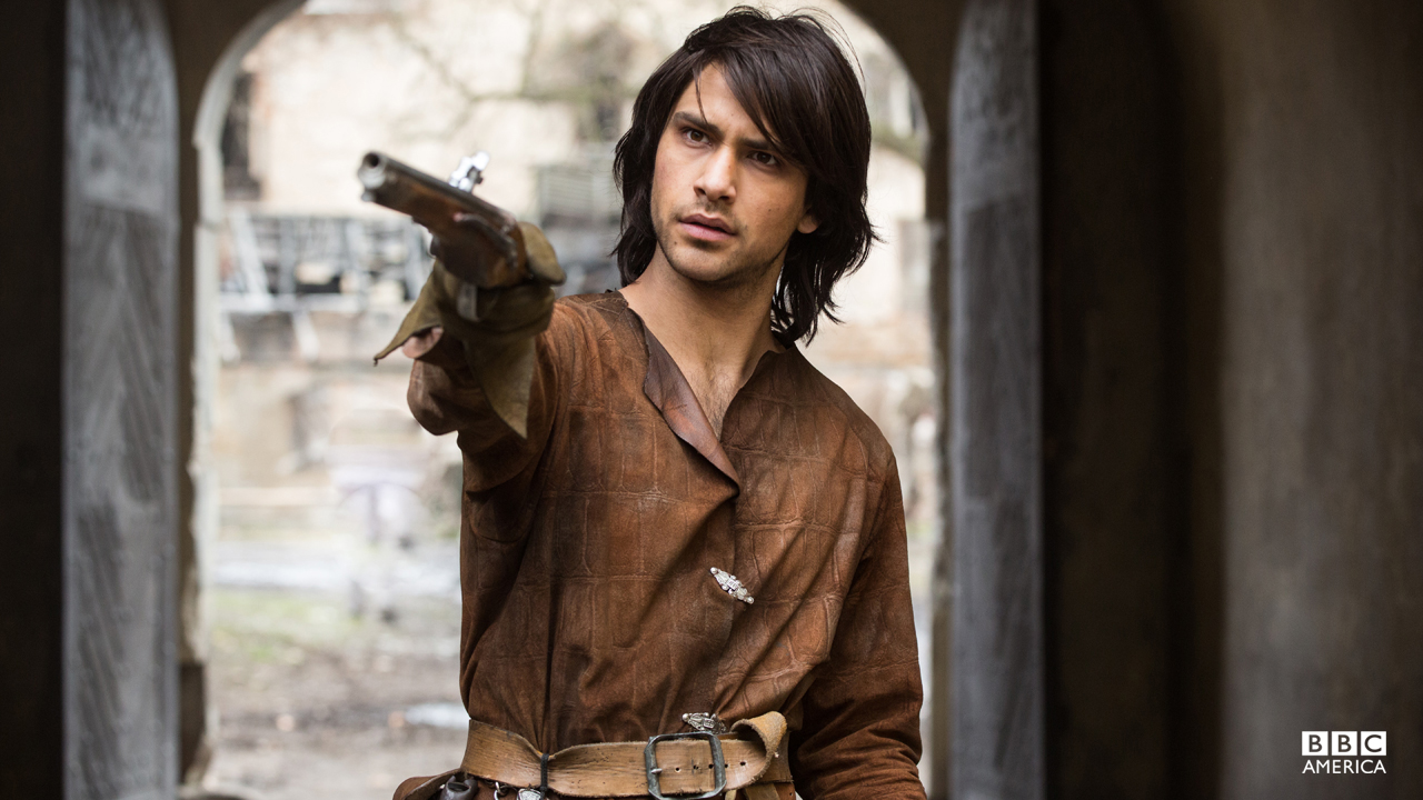 D'Artagnan is charismatic, impulsive and ridiculously brave with a fierce appetite for justice.