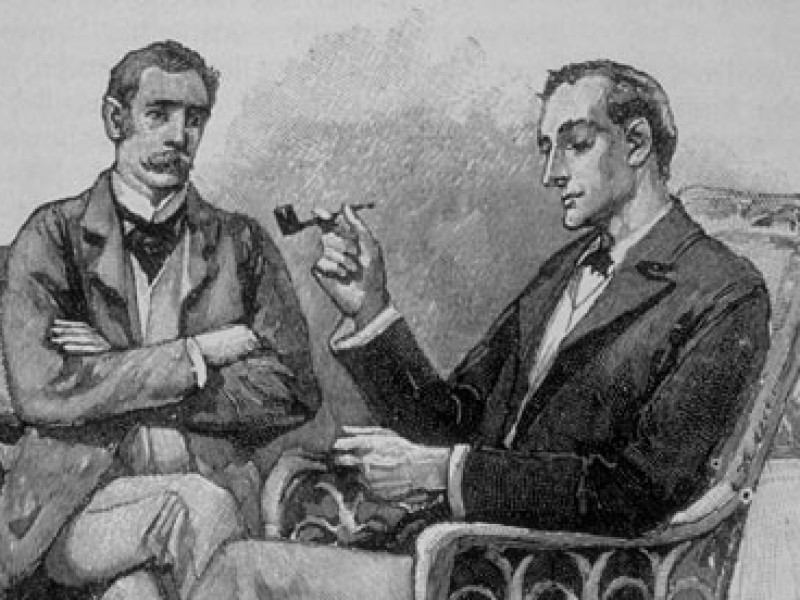 Sherlock Holmes with Pipe