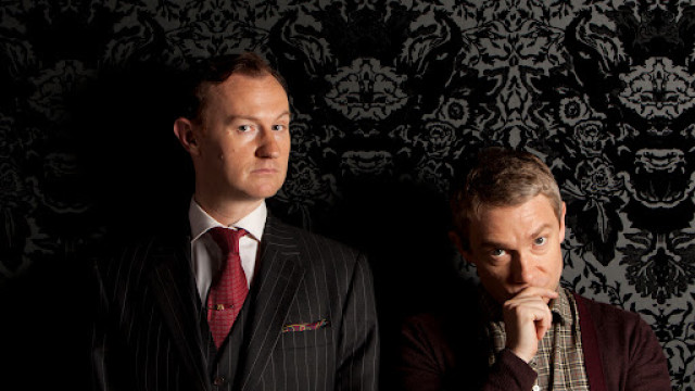 Sherlock, Mark and Martin