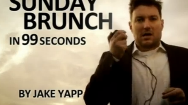 Sunday Brunch in 99 Seconds