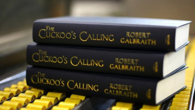 The Cuckoo's Calling, Stack of Books