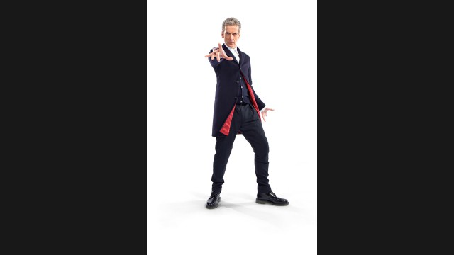 The first photo of Peter Capaldi in costume