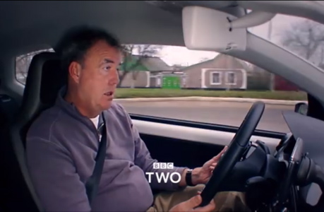 Jeremy Clarkson, looking barely awake, in season 21 teaser trailer. (BBC)