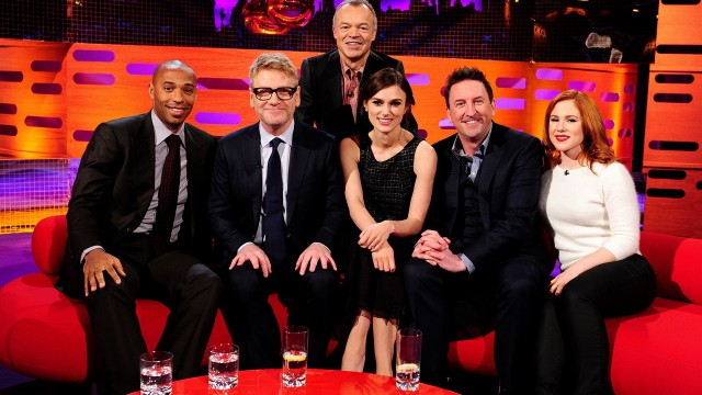 Episode 15: Thierry Henry, Kenneth Branagh, Keira Knightley, Lee Mack, Katy B