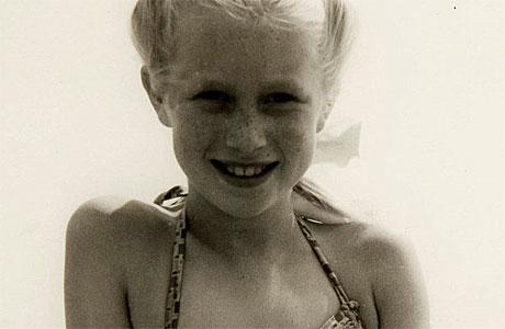 Young Helen Mirren (pic: Barnardo's)