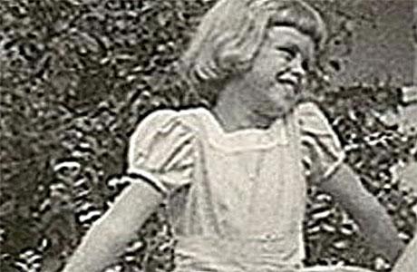 Young Joanna Lumley (pic: Barnardo's)