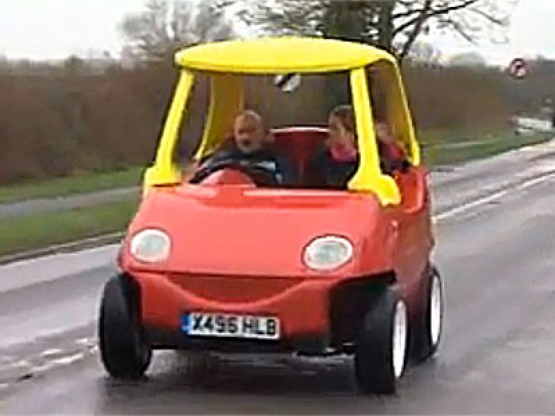 John Bitmead's Little Tykes car