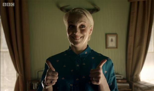 Sherlock - Mary's horns