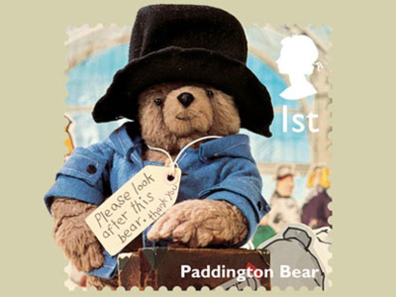 Paddington Bear stamp