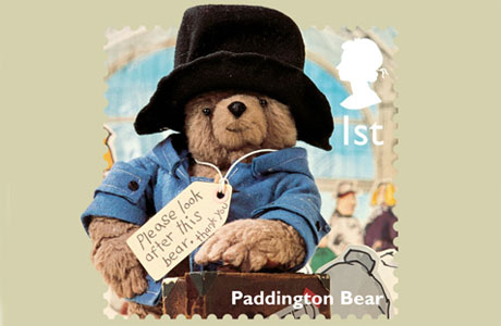 Paddington Bear's stamp