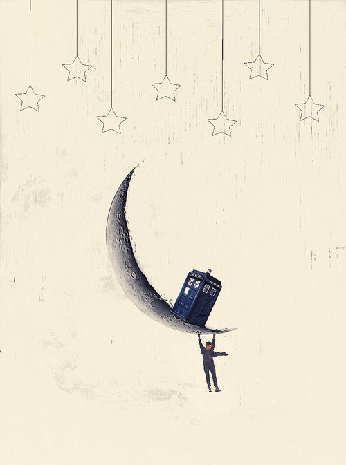 The Doctor on the Moon