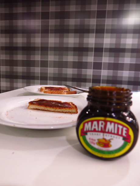 The Marmite did get eaten ...