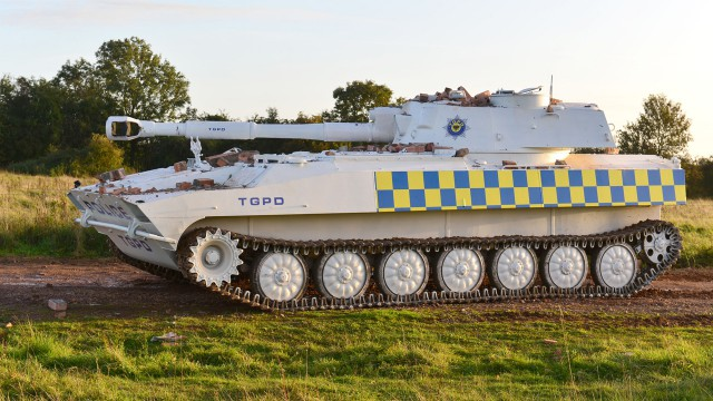 Top Gear Police Department's Tank