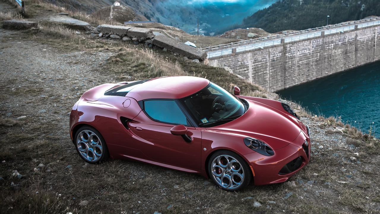 Alfa Romeo 4C by Lake Como