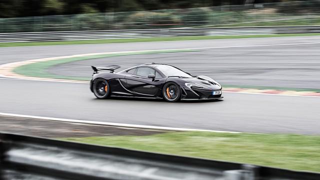McLaren P1 in Belgium