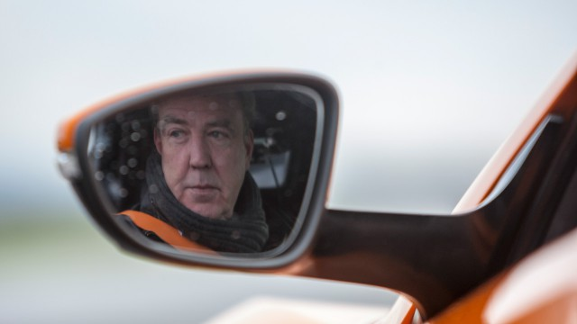 Jeremy Clarkson in the Zenvo ST1 at the Top Gear test