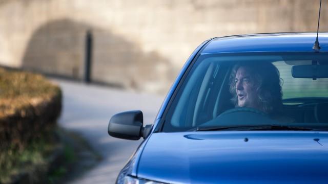 James May in his Dacia Sandero