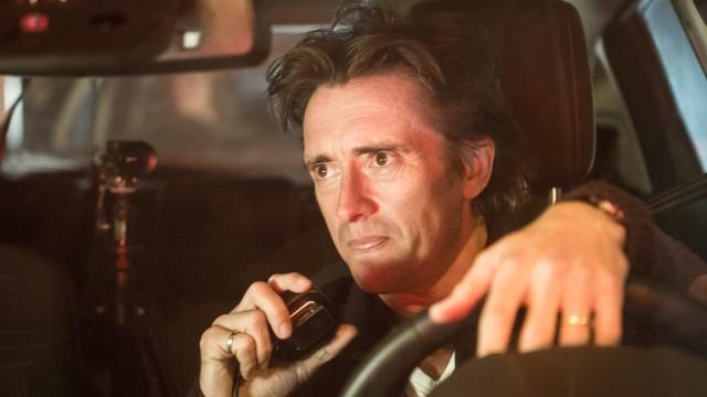 Richard Hammond driving a Ford Fiesta at night