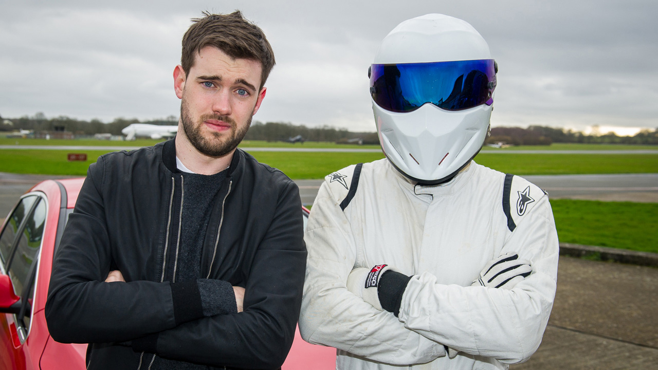 Jack Whitehall and The Stig – Star in the Reasonably Priced Car