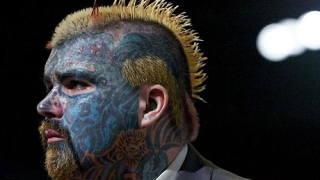 Tattooed Man, FINAL