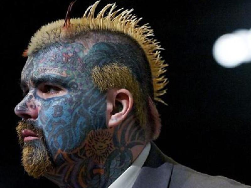 Tattooed Man, FINAL