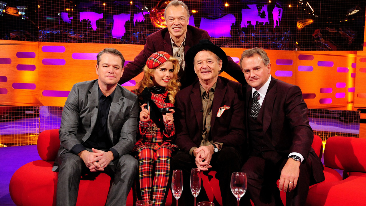 Matt Damon, Paloma Faith, Bill Murray, and Hugh Bonneville