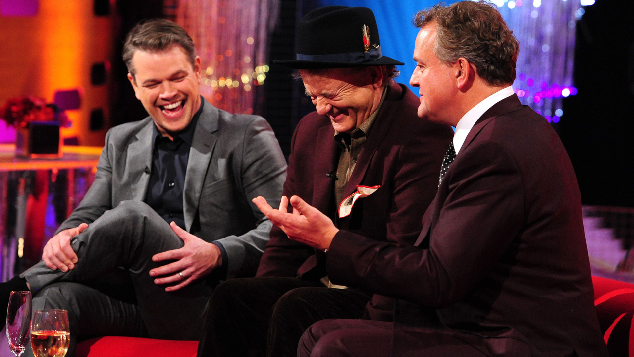 Matt Damon, Bill Murray, and Hugh Bonneville
