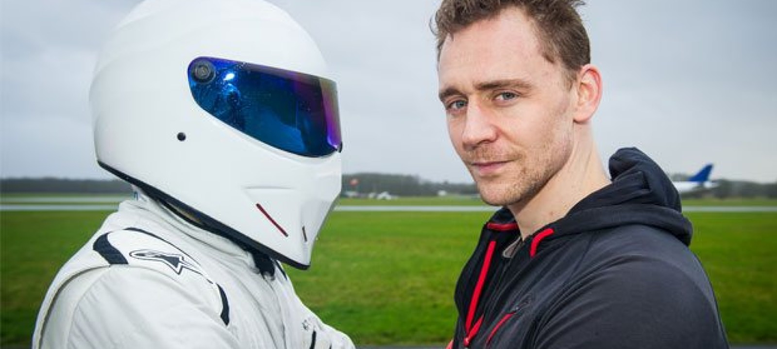 Tom Hiddleston and The Stig on 'Top Gear'