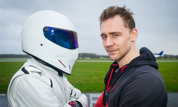 The Stig and Tom Hiddleston, 'Top Gear' (All pics: Mark Yeoman)