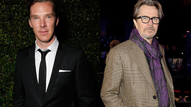 Benedict Cumberbatch and Gary Oldman