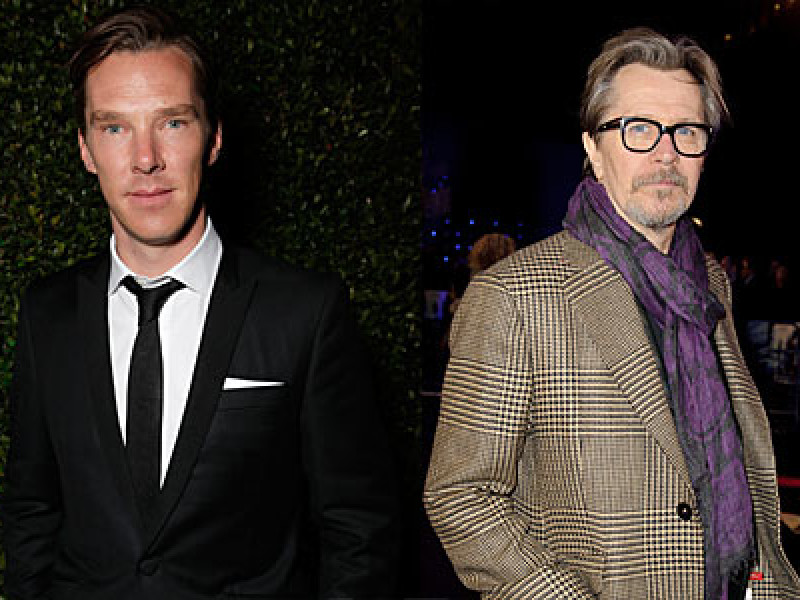 Benedict Cumberbatch and Gary Oldman