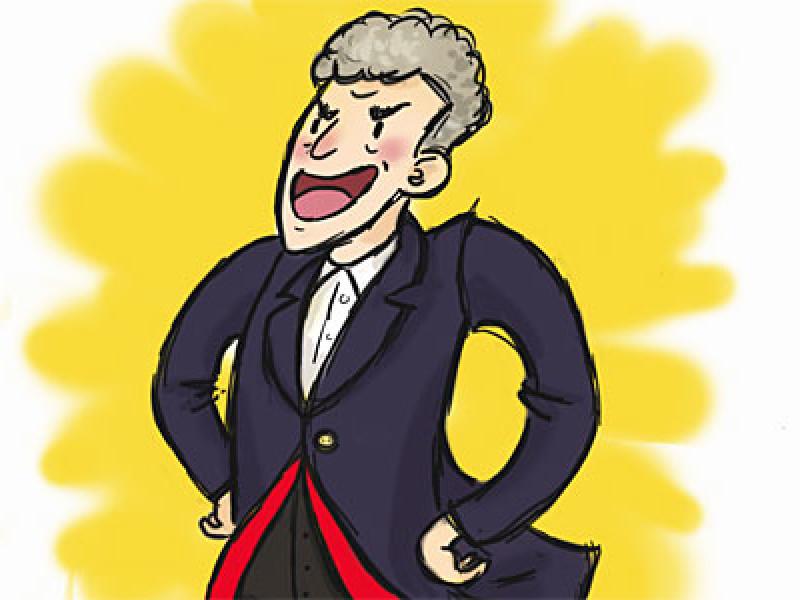 Cartoon Capaldi