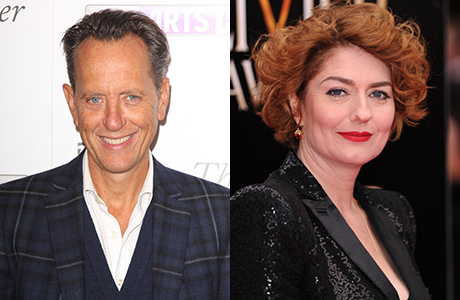 Grant and Chancellor will be joining the cast of Downton Abbey for season 5 (AP Photo/REX) (AP Photo/David Fisher)