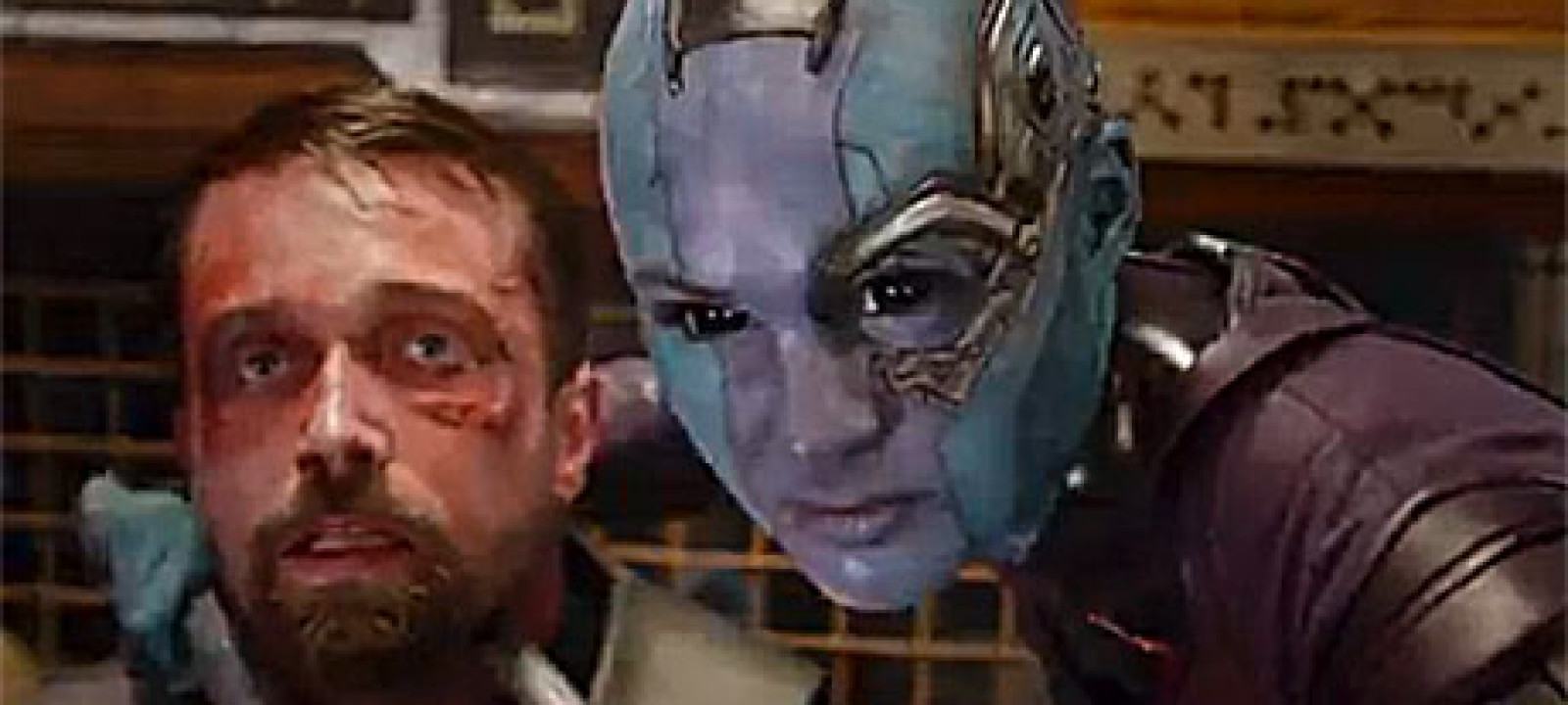 Karen Gillan as Nebula in 'Guardians of the Galaxy'