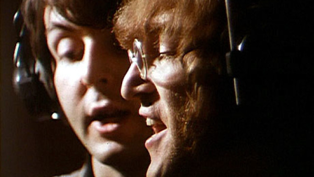 Paul McCartney and John Lennon, the Beatles