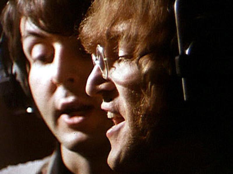 Paul McCartney and John Lennon, the Beatles