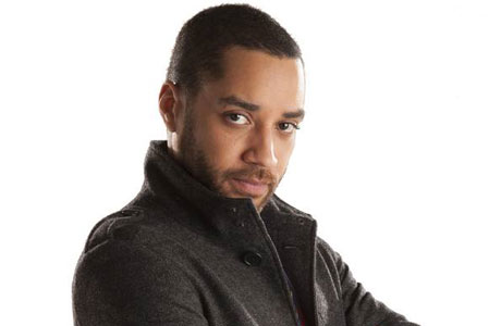 Samuel Anderson in his 'Doctor Who' garb