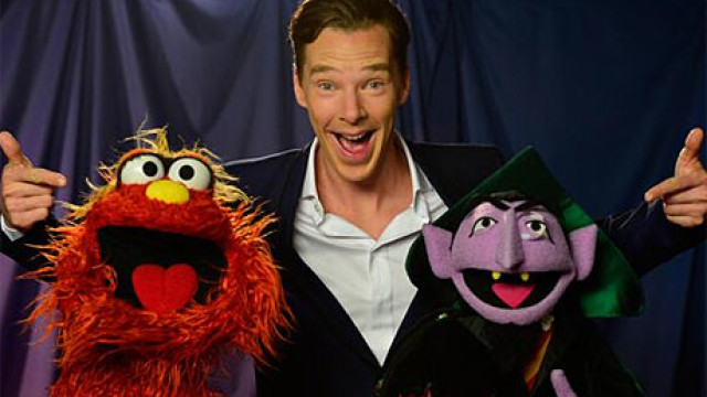 Benedict Cumberbatch on Sesame Stree
