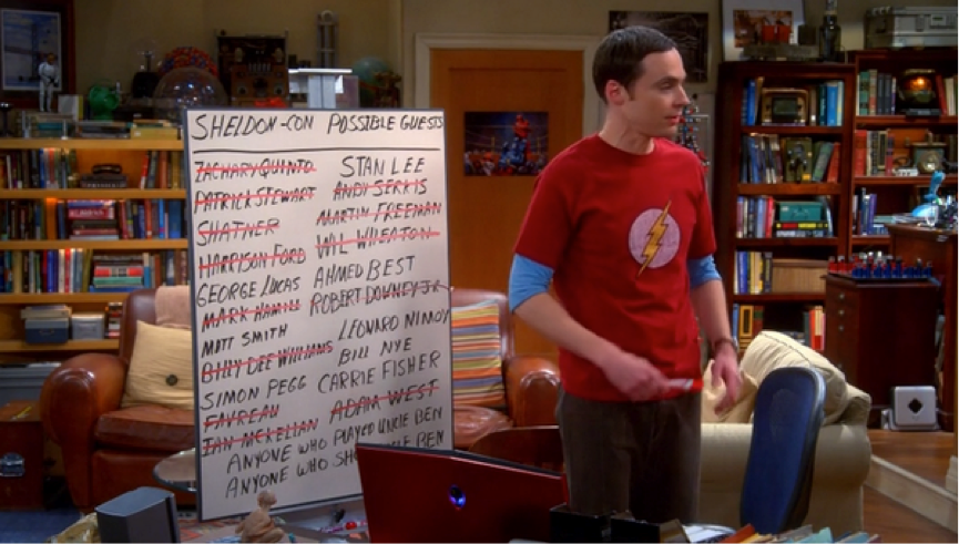 Sheldon-Con, the Big Bang Theory
