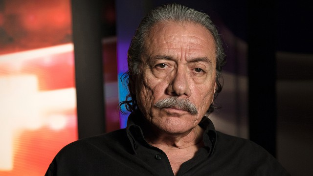 Edward James Olmos (actor, Blade Runner and Battlestar Galactica)