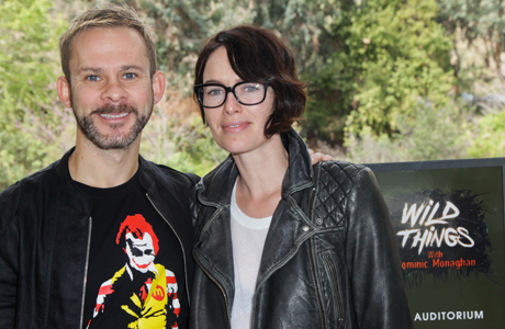 Dominic Monaghan and Lena Headey. (Photo: Ben Horton/Getty Images for BBC AMERICA)