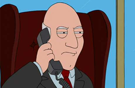 Is American Dad's Avery Bullock in on the PM joke too? (FOX)