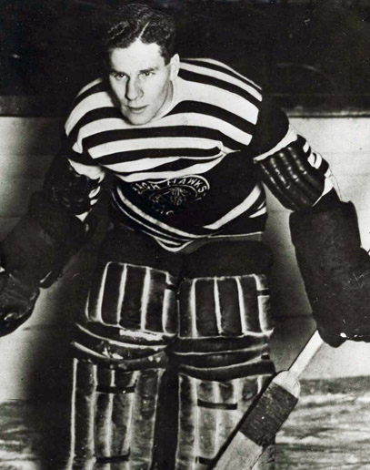 Charlie Gardner as a Winnipeg Tiger.