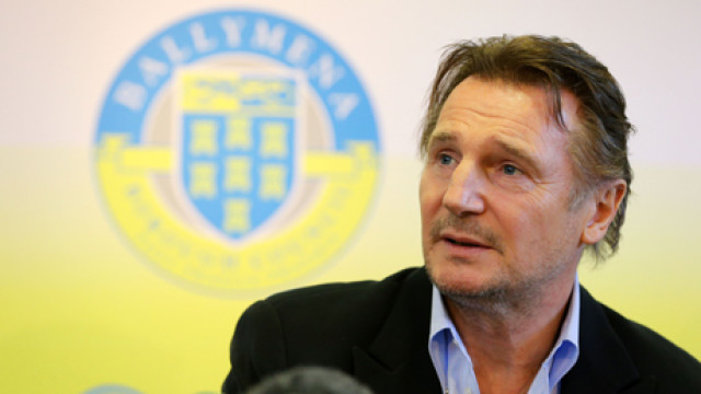 Liam Neeson awarded Honorary Freedom of Ballymena Borough, Belfa