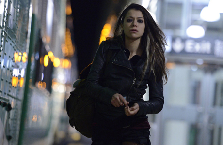 Tatiana Maslany returns in Orphan Black. (BBCA)