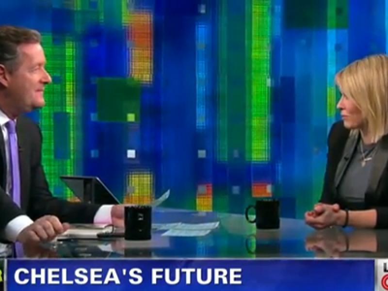Piers Morgan, Chelsea Handler