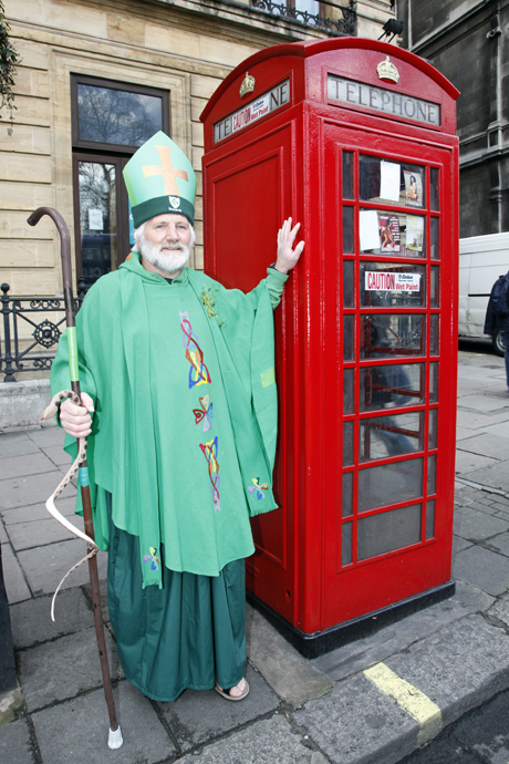 St. Patrick's Day parade participant St Patrick's Day Parade, London, Britain - 18 Mar 2012  (Rex Features via AP Images)