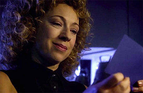 Alex Kingston as River Song in 'Doctor Who'