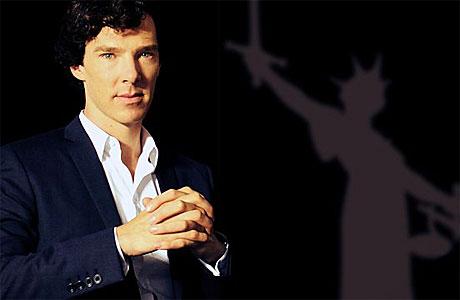 Benedict Cumberbatch, ready for Rumpole (Pic: BBC)