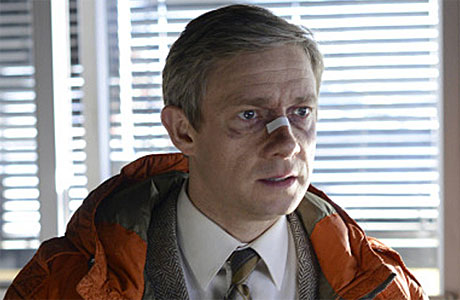 Martin Freeman in 'Fargo' (Pic: FX)